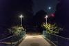 Bridge (villeah) Tags: night england london park moon streetlight unitedkingdom bridge stjamesspark gb