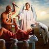The sacrifice of Abraham (jaci XIII) Tags: sacrifício abraão pessoa anjo judaismo animal cabrito sacrifice abraham angel judaism kid