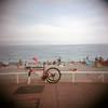 rBike rack (limrodrigues) Tags: holga portra400 nicefrance mediumformat film color 6x6