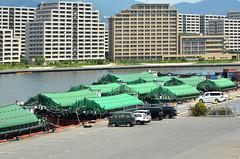 Kobe Barges (pokoroto) Tags: kobe barges 神戸市 hyōgoprefecture 兵庫県 日本 japan 8月 八月 葉月 hachigatsu hazuki leafmonth 2016 平成28年 summer august