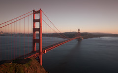 Golden hour on Golden Gate Bridge (Slobodan Miskovic) Tags: goldengate sanfrancisco bridge california nikond750 nikon2470mmf28 goldenhour