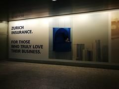 Zurich Insurance advert (A. Wee) Tags: zurich switzerland 苏黎世 瑞士 airport advertisement 机场 zrh