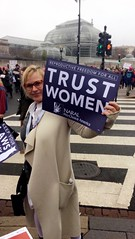 Actress Patricia Arquette (naralprochoiceamerica) Tags: womensmarch naral prochoice abortion reproductiverights feminism protest patriciaarquette