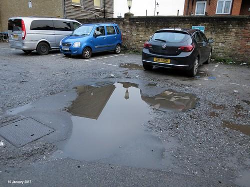 Morrison Yard - Puddle and Potholes