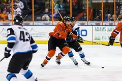 "Missouri Mavericks vs. Wichita Thunder, February 4, 2017, Silverstein Eye Centers Arena, Independence, Missouri.  Photo: John Howe / Howe Creative Photography • <a style=""font-size:0.8em;"" href=""http://www.flickr.com/photos/134016632@N02/32599599132/"" target=""_blank"">View on Flickr</a>"