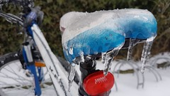 Ice Bike (Been Around) Tags: 20170202124659 regau rutzenmoos bike fahrrad rad ice eis winter snow eiszapfen austria autriche aut a austrian europe eu europa expressyourselfaward europeanunion österreich onlyyourbestshots oberösterreich oö salzkammergut salzkammergutregion hiver februar february cold eiskalt icebike samsung galaxys7edge