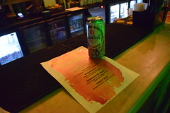 DSC_0690 Floripa Bar Shoreditch London BEWARE this bar charges £5.50 per can of Grolsch Beer in the evening RIP-OFF despite advertising four cans for £10 (photographer695) Tags: floripa bar shoreditch london beware this charges £550 per can grolsch beer evening despite advertising four cans for £10 ripoff