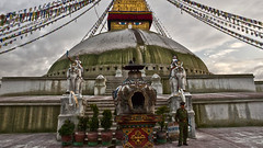 108 Prayers for Kathmandu - Day 37 (L I C H T B I L D E R) Tags: nepal temple earthquake outdoor prayer pray buddhism tribute hinduism 2015 stupas bodhnath earthquake2015 tributetonepal 108prayersforkathmandu