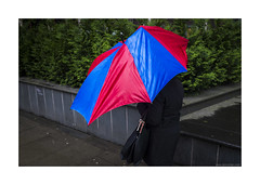 abstract-brella (jrockar) Tags: street city urban woman storm colour london english broken girl rain weather umbrella lens prime fuji shot candid streetphotography documentary rangefinder snap cover instant moment standard anonymous decisive disfigured x100s