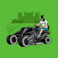 The Batmower (Ben Douglass) Tags: art illustration comics design dc funny drawing lol lawn tshirt superhero batman lawnmower dccomics threadless tshirtdesign vector brucewayne dadbod