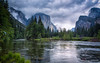 Valley View Late Spring (eramos_ca) Tags: landscape nationalpark yosemite granite elcapitan bridalveilfalls valleyview mercedriver gatesofthevalley