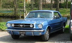 Ford Mustang 1965 (XBXG) Tags: auto old usa holland classic ford netherlands car vintage us automobile nederland voiture american mustang fordmustang paysbas 1965 amerikaans ancienne amricaine ankeveen 3403au