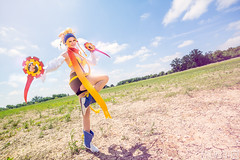 Colossalcon 2015 (KyleMistry) Tags: nerd fashion comics costume geek cosplay videogames convention squareenix finalfantasy paine rikku yuna x2 ffx2 colossalcon braska jrpg