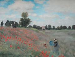 Les Coquelicots, Claude Monet (jacqueline.poggi) Tags: paris france museum painting ledefrance muse peinture claudemonet musedorsay peintre paintr impressionistes lescoquelicots galeriedesimpressionnistes