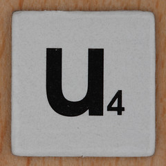 Word Game letter u (Leo Reynolds) Tags: u letter uuu oneletter letterset lowercase grouponeletter xsquarex xleol30x xxx2015xxx