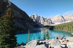 Moraine lake Alberta Canada July 4th 2015 (davebloggs007) Tags: lake canada 4th july alberta moraine 2015