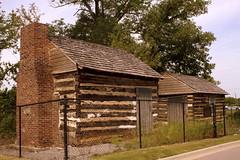 All that's left of Evergreen Place - Nashville (SeeMidTN.com (aka Brent)) Tags: tn nashville tennessee carriagehouse logcabin evergreenplace us31e bmok bmok2 bmokstory