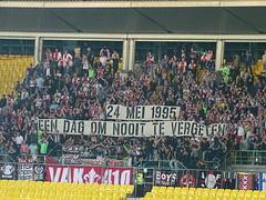 On this date Ajax won the Champions League in Vienna (nemico publico) Tags: vienna wien amsterdam football sterreich fussball soccer fans ajax stadion pyro league champions ultras tifo fanatics awayday htteldorf choreo ultrasrapid skrapidwien