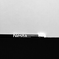 Nesta... (Gonie) Tags: bw apple iphone6 item uk