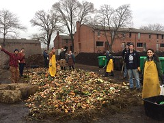 Community Compost Build - 12.27.16 - Monster Claus