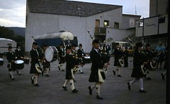 img379 (foundin_a_attic) Tags: bagpipes kilt scotland scotish rbfarquhar mill shop wools tweeds knitwere ladues tiilet