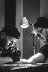 Singularity (Foto di Chris) Tags: tattoo tattooartist ink inkart portrait artistic editorial