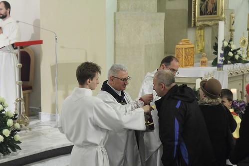 Msza odpustowa w parafii Niepokalanego Poczęcia NMP w Lublinie pod przewodnictwem Sekretarza Generalnego KEP, 8 XII 2016