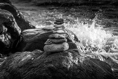 Stones (RobMenting) Tags: 70d liguria beach ligurië travel sea vernazza canon europe eos genua italië zee canoneos70d italiã« liguriã« building city italia architecture