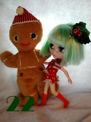 """December 22 flickr advent """"Running away with the gingerbread man"""""""