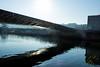Lumière sous le pont (Thierry Poupon) Tags: boulogne ileseguin pont reflet seine soleil ciel contrejour boulognebillancourt iledefrance france fr bridge light sky sun