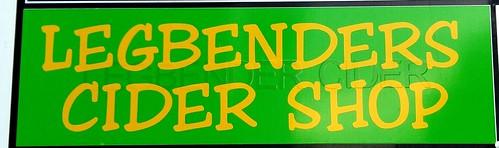 Legbenders Cider Shop