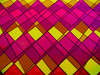 A Tadge Tartan (Steve Taylor (Photography)) Tags: tartan pattern art digital design mauve purple pink yellow orange newzealand nz southisland canterbury christchurch city lines diamond triangle