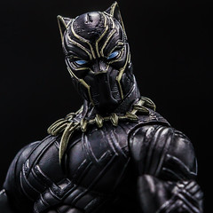 Black Panther (Vimlossus) Tags: legends toyphotography action acba toy marvel blackpanther figure