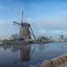 little winter wonderland at Kinderdijk (Just me, Aline) Tags: 201701 alinevanweert holland kinderdijk nederland netherlands mill mills molen molens winter explore