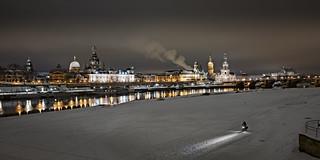 Germany - Skyline Dresden at Night