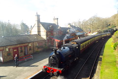 2682-19 (Ian R. Simpson) Tags: 2682 princess bagnall steam locomotive train lakesidehaverthwaiterailway loco engine