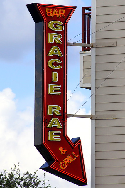 Gracie Rae neon sign - St. Andrews, FL