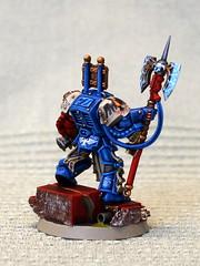 Blood Ravens Calistarius (Scott Steinhart) Tags: warhammer 40k spacemarines spacehulk librarian bloodravens terminator