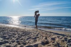 lion king   on beach  / knig der lwen am strand.... (CB-Photos) Tags: sunset sun love beach fun fly high sand dad child none sony urlaub lion wave hoiday welle slt fliegen a58 blueblau sonwater wolkenskys