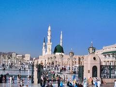 Masjid nabawi hajj 2004 (brooklynyte4ever) Tags: islam mosque umrah hajj madinah greendome prophetmuhammad masjidnabawi