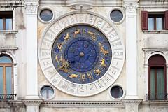 IMG_9097 (Sharon Dortenzio) Tags: blue venice sun stars gold zodiac piazzasanmarco astrolabe astronomical gilding numerals stmarksclock