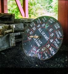 Miners Clock (J.Robinson93) Tags: street clock tlr film grass photography high durham victorian vic medium format yashica frys tog miners shootfilm beami