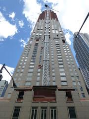 30 Park Place (skumroffe) Tags: nyc newyorkcity usa newyork building skyscraper construction crane manhattan baustelle tribeca grua kran grue hirise kraan towercrane skyskrapa byggnad hghus lyftkran favellefavco turmdrehkran torenkraan turmkran gruatorre newyorkcrane byggkran 30parkplace tornkran grueatour