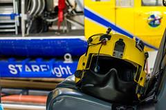 STARFlight (Joe Snowman) Tags: summer dedication austin texas unitedstates hangar helicopter capitol airbus helipad atx starflight ec145 dellchildrensmedicalcenter canoneos70d kristinmclain