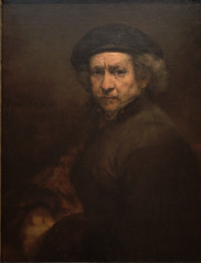 Rembrandt Self Portrait (jem2044) Tags: travel portrait self washington archive images rembrandt 390 bldgs ffffffffffffffff 20060824