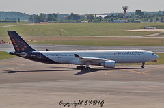 Airbus A330-301 OO-SFO Brussels Airlines (EI-DTG) Tags: brussels airbus a330 bru zaventem sabena planespotting brusselsairport airbus330 aircraftspotting brusselsairlines oosfo 10jun2015