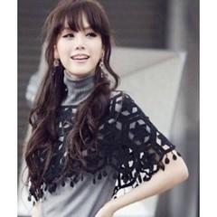 ผ้าคลุมไหล่ ชุดราตรีแฟชั่นเกาหลี คอตตอนถักลาย6เหลี่ยมสวยหรูหรา สีดำ - พร้อมส่งYA005 ราคา380บาท #ผ้าคลุมไหล่ #เสื้อคลุมไหล่ ชุดราตรีแฟชั่นเกาหลีถักนิตติ้งผ้าคอตตอนนุ่มสวยหรูหรา ถักลาย6เหลี่ยมสวยแต่งตุ้งติ้ง เหมาะสำหรับใส่คลุมไหล่ชุดราตรี ชุดไปงานแต่งงาน เป