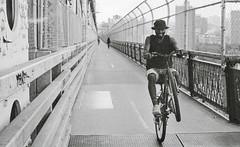Hochstarter (Chr Mayer) Tags: nyc bw usa film skyline manhattan manhattanbridge eastriver hochstarter