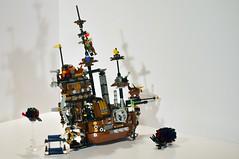 Sea Cow 2 (Creed Creations) Tags: sea scale cow lego pirate micro microscale 70810 metalbeard