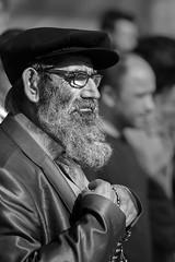 Turkish elder (adambotond) Tags: portrait people bw man canon turkey europe streetphotography istanbul elder turkish canonef70200f4isl canoneos6d